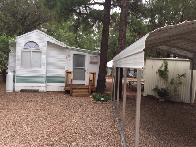 Site # 71 Park Model Oak Park 35' 1995 Price $44,900